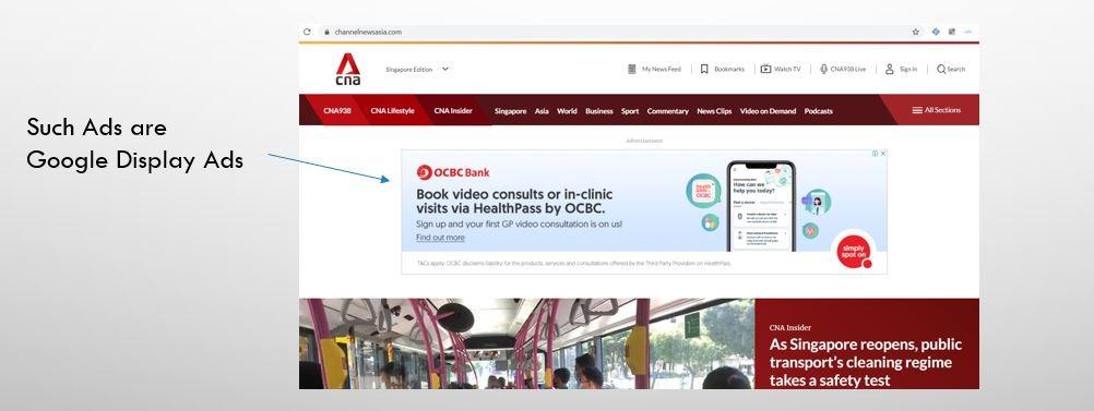 Google Display Ads -Esther Goh Tok Mui